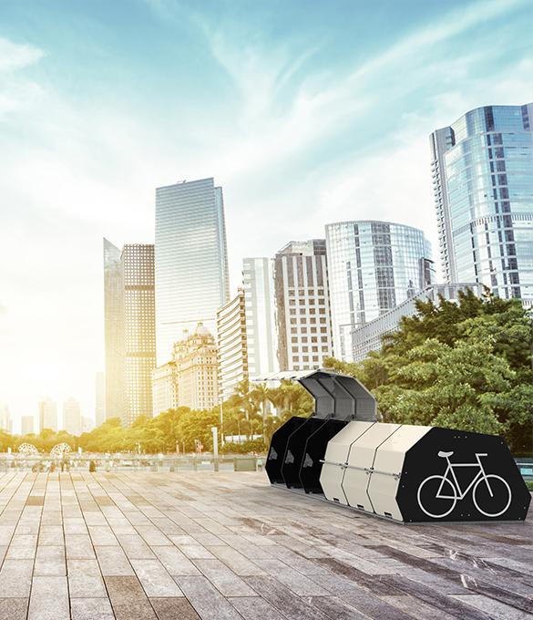 Pedalo Cycle Box, lockable box, cycle storage