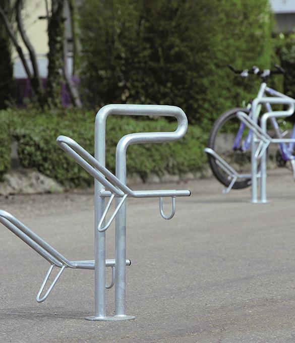 secure bike rack, metal bike stand