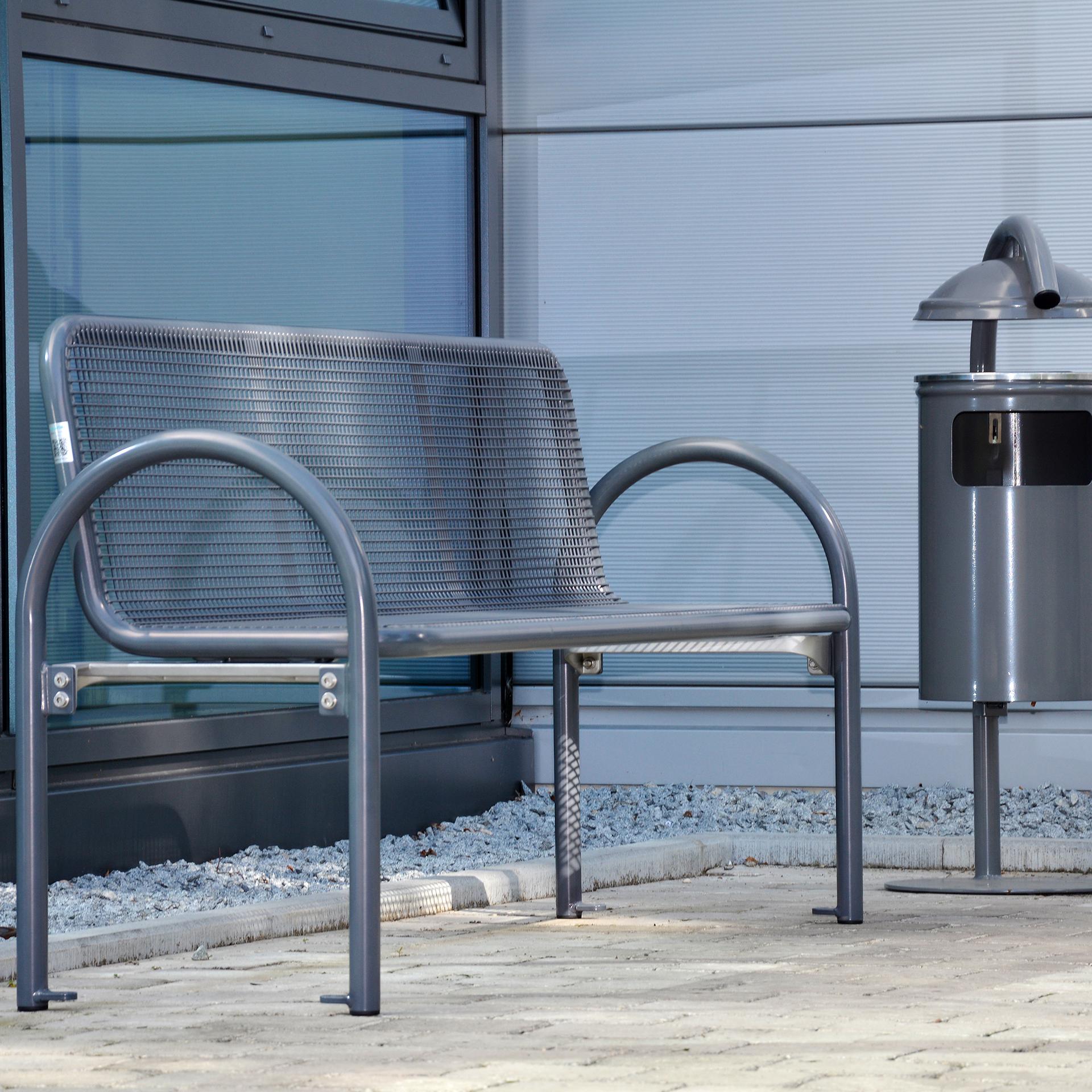 Siesta Harmony Bench, metal bench